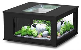 Aquarium table LED 100_100 cm noir