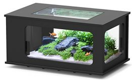 Aquarium table LED 130_75 cm noir