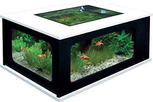 Table Basse Aquarium U2013 Aquatlantis Noir/Blanc