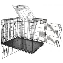 Nemaxx Cage pour chien pliable et transportable taille XXL