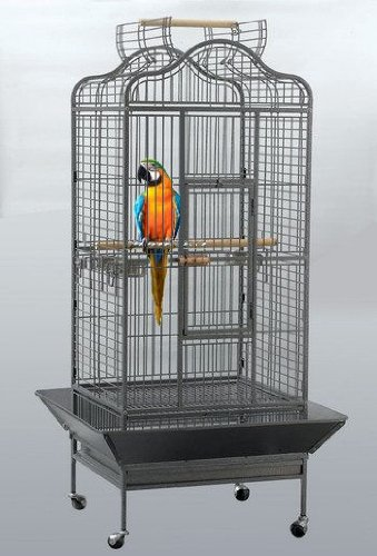 grande cage oiseaux de marque parrot. Black Bedroom Furniture Sets. Home Design Ideas