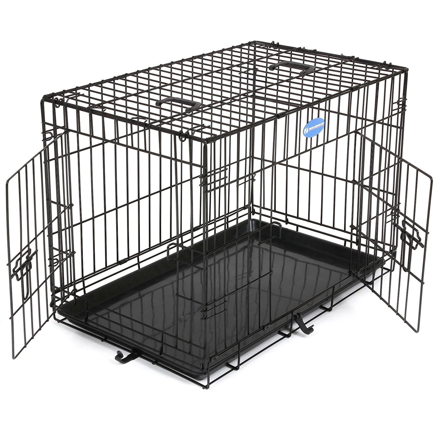 cage pour chien pliable et transportable de m xxl. Black Bedroom Furniture Sets. Home Design Ideas