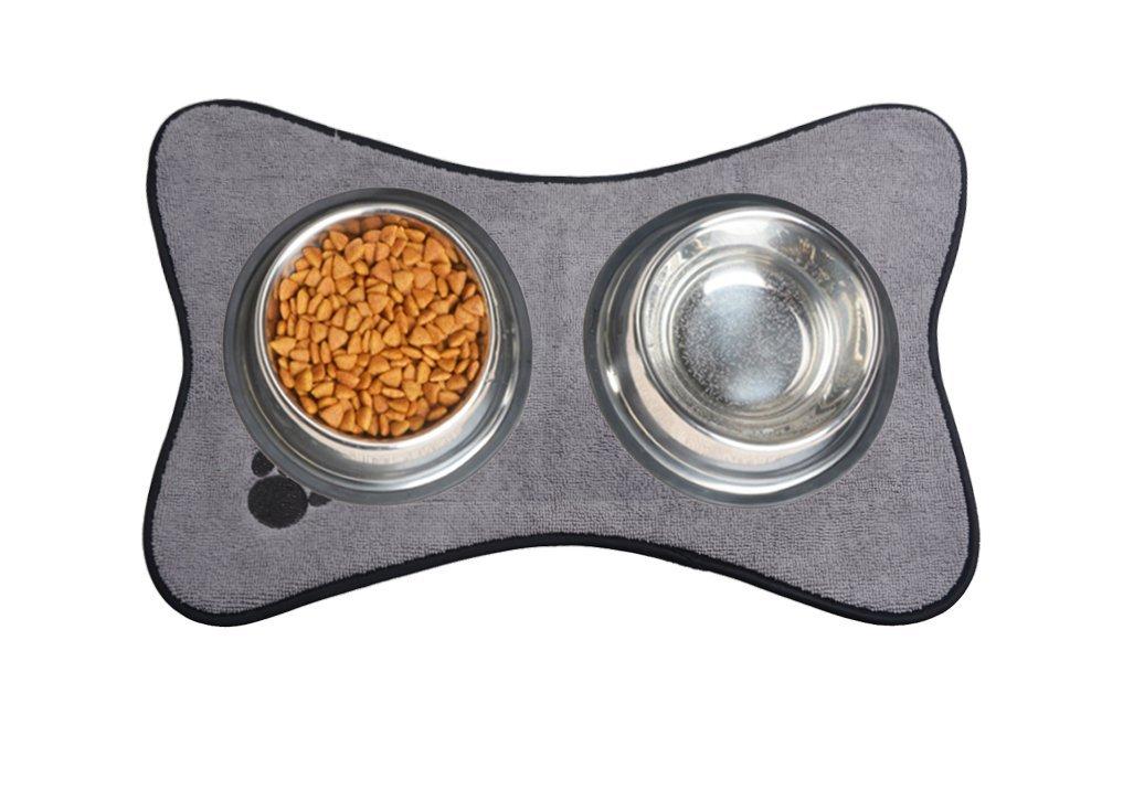 Tapis De Bol Sinland Pet Bol Pour Chien En Microfibre