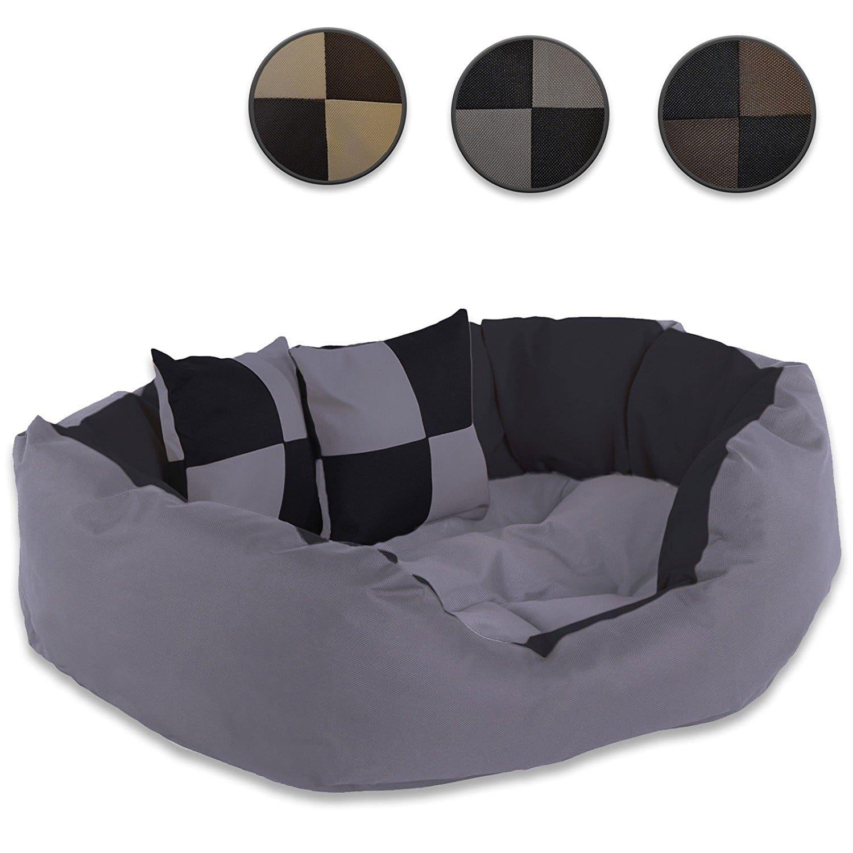 panier pour chien lavable avec coussin r versible dibea. Black Bedroom Furniture Sets. Home Design Ideas