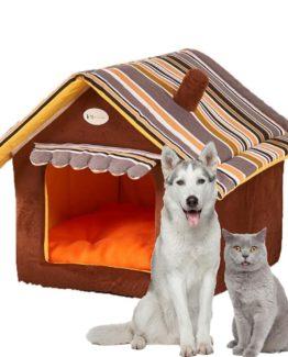 Confortable niche pour animaux