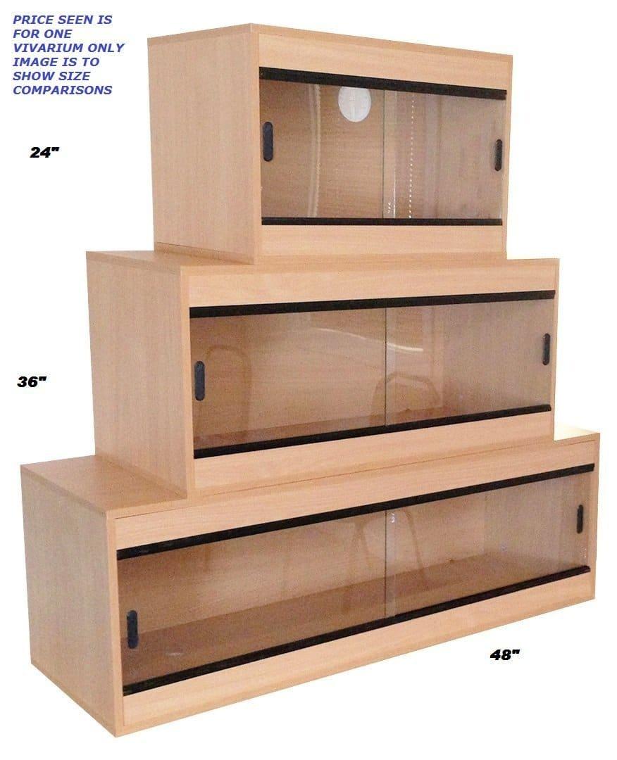 pet bliss terrarium pour reptiles en bois de h tre 61 x 40. Black Bedroom Furniture Sets. Home Design Ideas